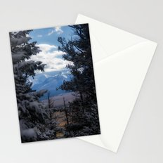 The Mountains through the Trees Stationery Cards