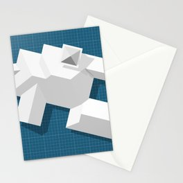 Roofscape #9 Stationery Cards