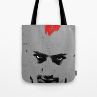 taxi driver Tote Bags featuring Driver by Green'n'Black