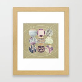 Inner Circle Three Framed Art Print
