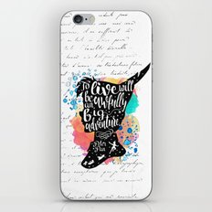 Peter Pan - To Live iPhone & iPod Skin