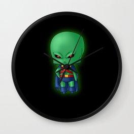 Chibi Martian Manhunter Wall Clock