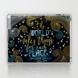 Rebel Of The Sands - For Each Place Laptop & iPad Skin