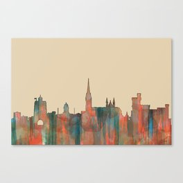 Cork, Ireland Skyline - Navaho Canvas Print
