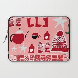 winter gear pink Laptop Sleeve