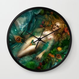 Death, Life, Hope Wall Clock