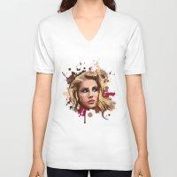 lana V-neck T-shirts featuring Lana by Devis Pederzini