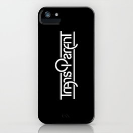 Transparent (Mirror) iPhone Case