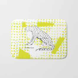 POP Cheetah Bath Mat