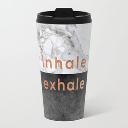 Inhale Exhale Copper Travel Mug