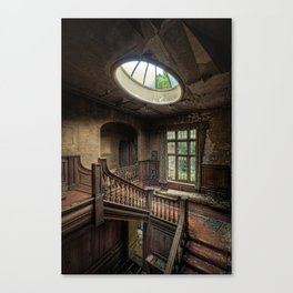 Potters Manor Canvas Print