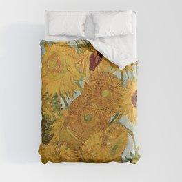 Van Gogh - sunflowers Duvet Cover