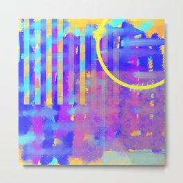 Abstract 100 Metal Print
