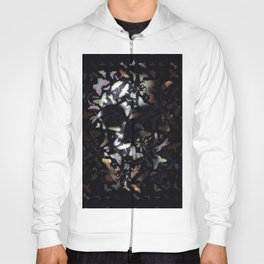 Butterfly And Skull Hoody
