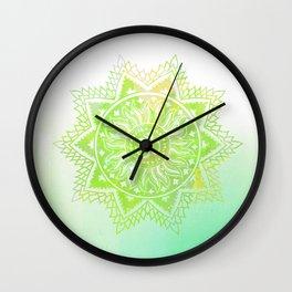 Aum lotus Wall Clock