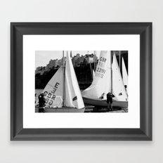 Home time Framed Art Print