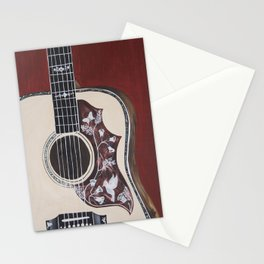 Guitar Stationery Cards