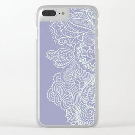 Abstract Nature in Ultraviolet Clear iPhone Case