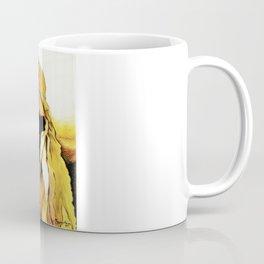 Lady in Fur. Coffee Mug