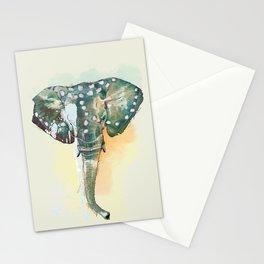Elefante africano Stationery Cards