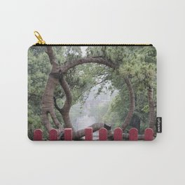 Temple and Tree Carry-All Pouch