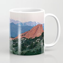 Sunrise at Garden of the Gods and Pikes Peak Coffee Mug