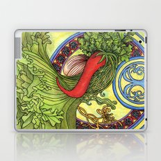 Art nouveau. Spices and vegetables Laptop & iPad Skin