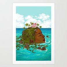 Voices Heard Art Print