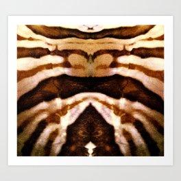 brow pattern Art Print