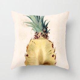 Ananas comosus (pineapple) Throw Pillow