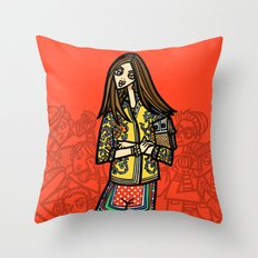 the power of 5. one Throw Pillow