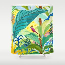 Paradise Jungle Shower Curtain
