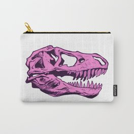 Dinosaur skull (pink) Carry-All Pouch