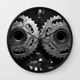 Gears Wall Clock