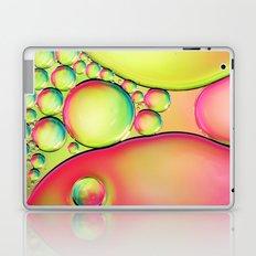 Bubble Pink Oil Drops Laptop & iPad Skin