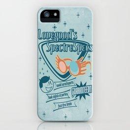 SpectreSpecs iPhone Case