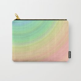 Abstract Pastel Rainbow I Cute abstract circles, gradient pattern Carry-All Pouch