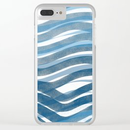 Ocean's Skin Clear iPhone Case