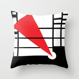 Lissitzky & Mondrian Throw Pillow