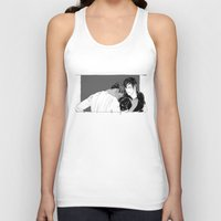 yaoi Tank Tops featuring Getting Older by Cassandra Jean