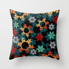 New year decor , new year, Christmas Throw Pillow
