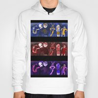 shakespeare Hoodies featuring Shakespeare Kids by Louisa Lawler