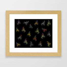 Magic Frogs Framed Art Print