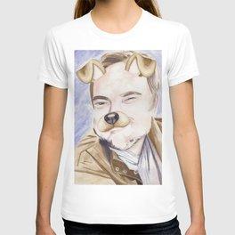 Mark Sheppard, watercolor painting T-shirt
