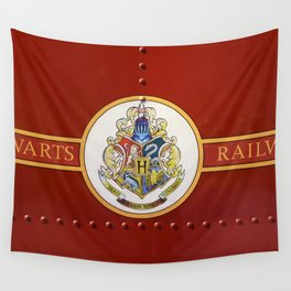 Red  Hp Wall Tapestry