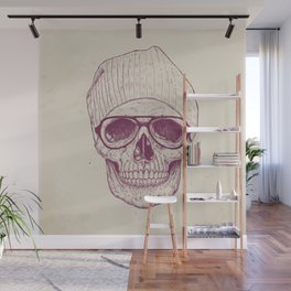 Cool skull Wall Mural