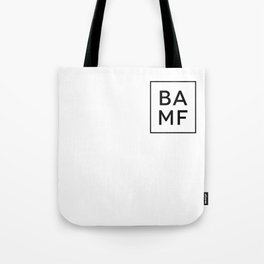 Table of Elements BAMF Tote Bag