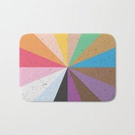 Rainbow Wheel of Inclusivity Bath Mat