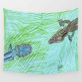 Part 1: Stand-Off! Wall Tapestry