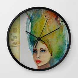 Free Thought Wall Clock
